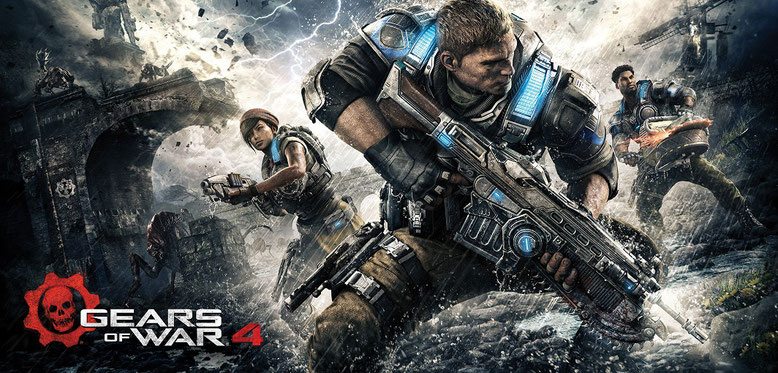 4K Gameplay zu Gears of War 4 von der Gamescom 2014