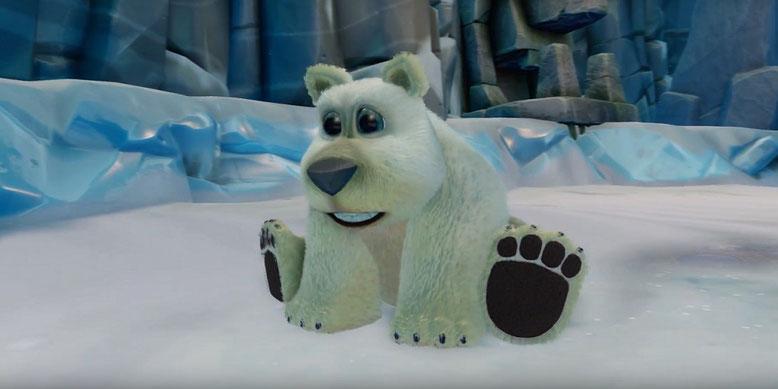 Polar aus der Crash Bandicoot N. Sane Trilogy im neuen Gameplay-Trailer. Bilderquelle: Activision