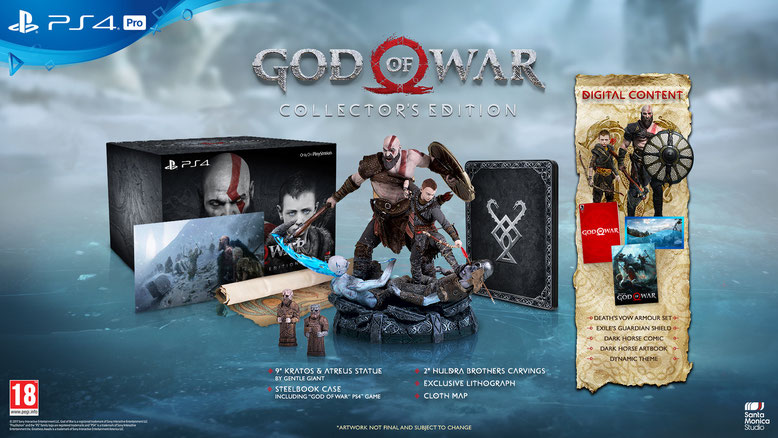 God of War PS4 Collector´s Edition