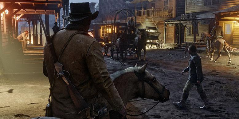 Wann erscheint Red Dead Redemption 2 für PS4 und Xbox One im Handel? Laut Coolshop erfolgt der Release des Open-World-Action-Adventures von Rockstar Games am 8. Juni 2018. Bilderquelle: Take Two