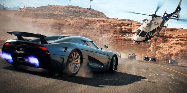 Rasant und Spektakulär: Der offizielle Launch-Trailer zu dem Action-Rennspiel Need for Speed Payback ist da! Bild: EA