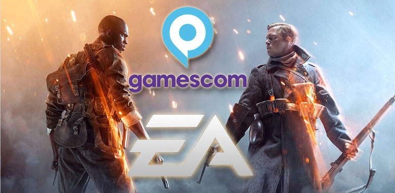 Gamescom 2016 Livestream auf YouTube zum Electronic Arts Opening-Event