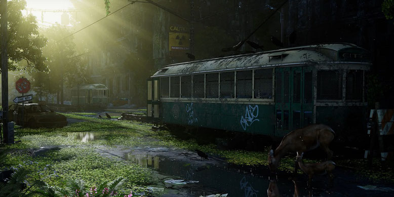 The Last of Us und I Am Legend treffen im neuen Video auf die Unreal Engine 4. Bilderquelle: Maverick