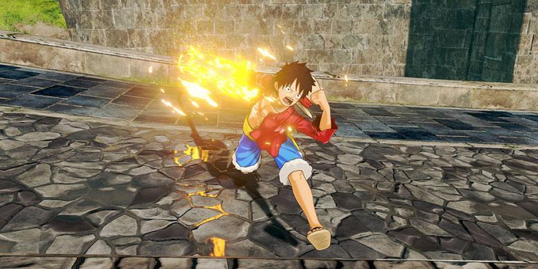 Zu One Piece: World Seeker sind neue Screenshots erschienen, die uns einem Blick auf frische Gameplay-Szenen und die offene Spielwelt bescheren. Bilderquelle: Bandai Namco