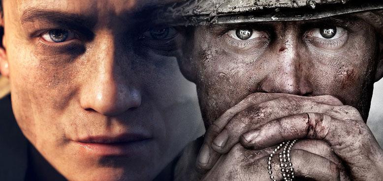 Call of Duty WW2 erhält im Gegensatz zum Vorgänger viele positive Stimmen. Bilderquelle: EA/Activision