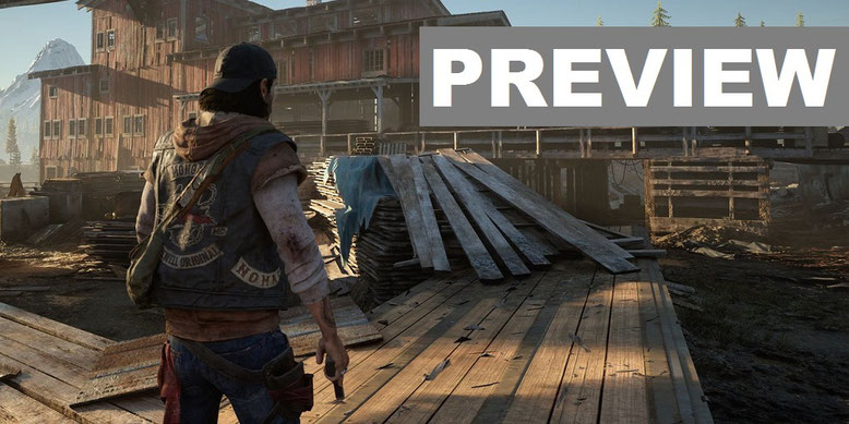 Days Gone Preview PS4