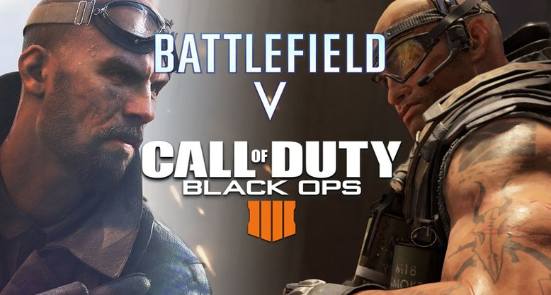 Battlefield 5 versus Call of Duty Black Ops 4 Grafikvergleich