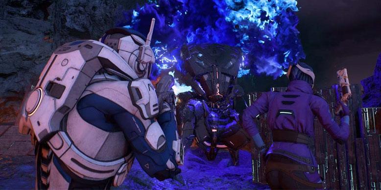 CES 2017 Gameplay zu Mass Effect: Andromeda und Release-Termin enthüllt. Bilderquelle: EA