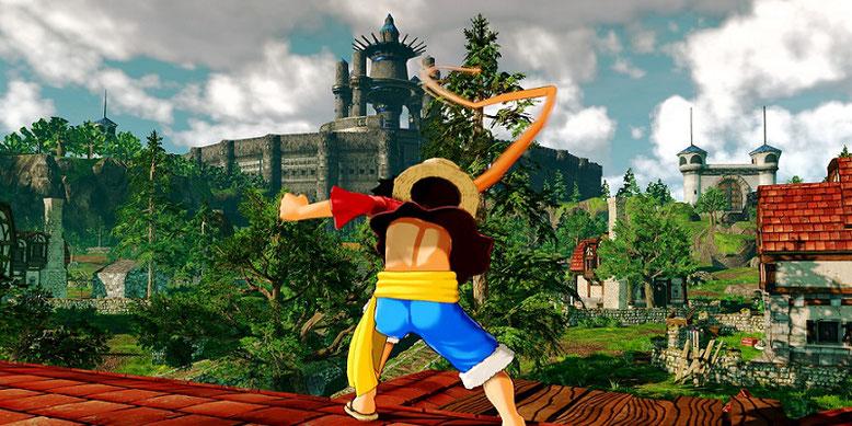 One Piece: World Seeker im neuen Open-World-Gameplay-Video auf PlayStation 4 präsentiert. Bilderquelle: Bandai Namco