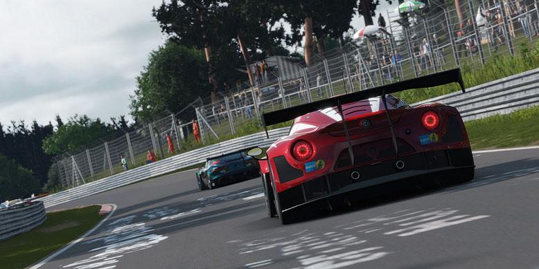 GT Sport zeigt sich im Videovergleich mit Forza Motorsport 7 und Project Cars 2. Bilderquelle: Sony Interactive Entertainment
