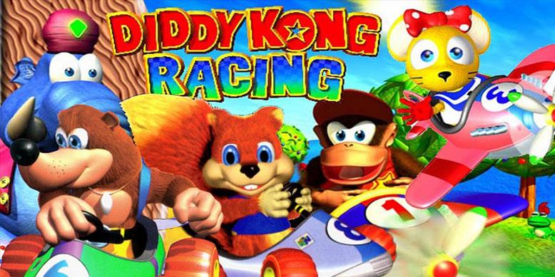 Zu Diddy Kong Racing ist ein Fan-Remake auf Basis der Unreal Engine 4 von Epic Games in Arbeit. Bilderquelle: Nintendo