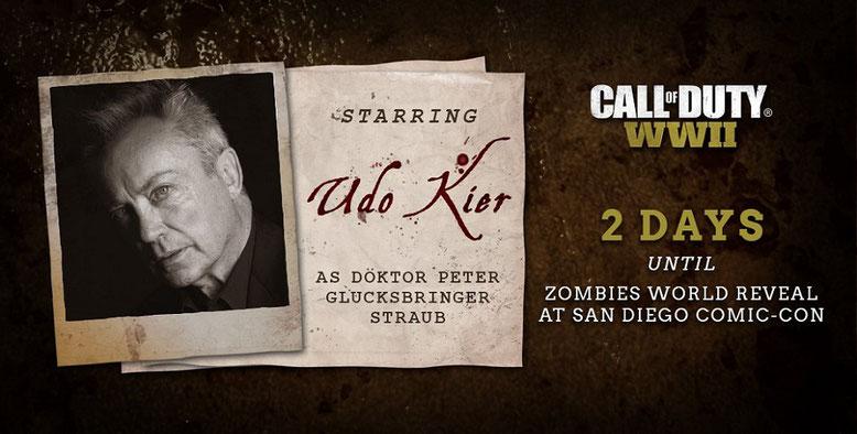 Der Zombie-Modus von Call of Duty WW2 wird auf der Comic-Con 2017 vollständig enthüllt werden. Bilderquelle: Activision