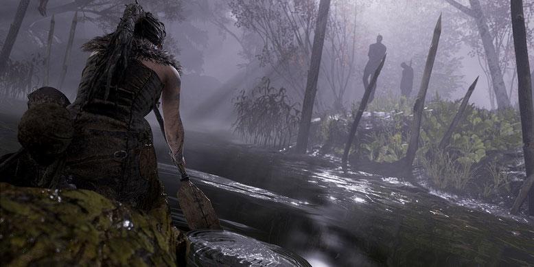 Die erste Stunde zu Hellblade Senua's Sacrifice im Gameplay-Walkthrough-Video auf PS4 Pro enthüllt. Bilderqelle: Sony
