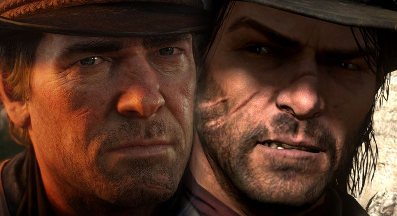 Red Dead Redemption 2 Grafik Evolution Screenshot Vergleich
