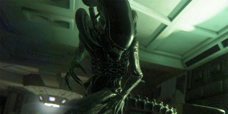 Bei FoxNet Games ist ein neuer Alien-Shooter in Arbeit, der auf der Unreal Engine 4 aufbaut und im Cinematic-Universe angesiedelt ist. Bild: Sega/Alien: Isolation