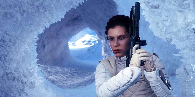Keine digitale Auferstehung von Prinzessin Leia in Star Wars: Episode 8 geplant. Bilderquelle: EA/Battlefront
