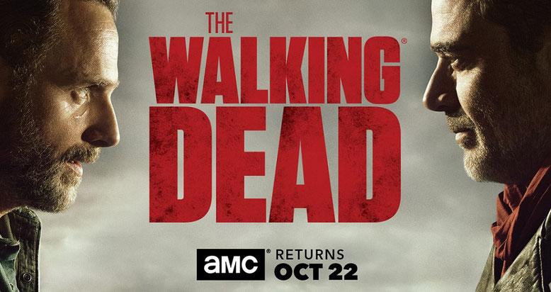 Die Staffel 8 von The Walking Dead zeigt sich im ersten Artwork der Comic-Con in San Diego. Bilderquelle: AMC