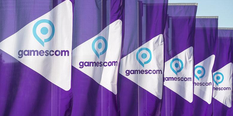 gamescom 2017: Bundeskanzlerin Angelea Merkel eröffnet erstmals die heiligen Hallen der Spielemesse in Köln.