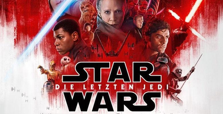 Star Wars: Episode 8 - Die letzten Jedi startet am 14. Dezemeber 2017 in den deutschen Kinos. Die Weltpremiere fand bereits gestern Nacht in Los Angeles statt. Bilderquelle: Lucasfilm/Disney