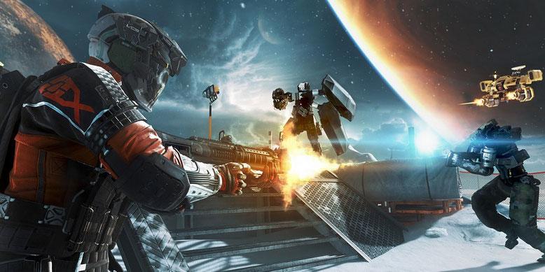 Call of Duty: Infinite Warfare ist um ein Feature erweitert worden: die GameBattles. Bilderquelle: Activision