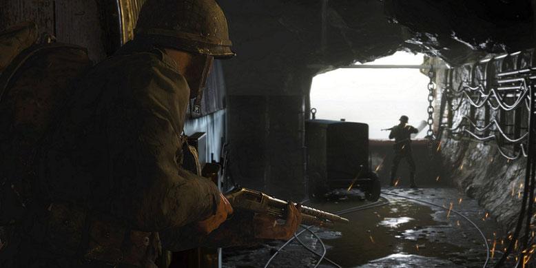 Ein neues Udate für die Private Beta von Call of Duty WW2 mit neuen Waffen und Killstreaks ist erschienen. Bild: Activision