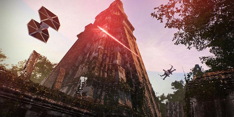 Star Wars Battlefront 2 zeigt sich in einem neuen Entwicklervideo. Bilderquelle: Electronic Arts
