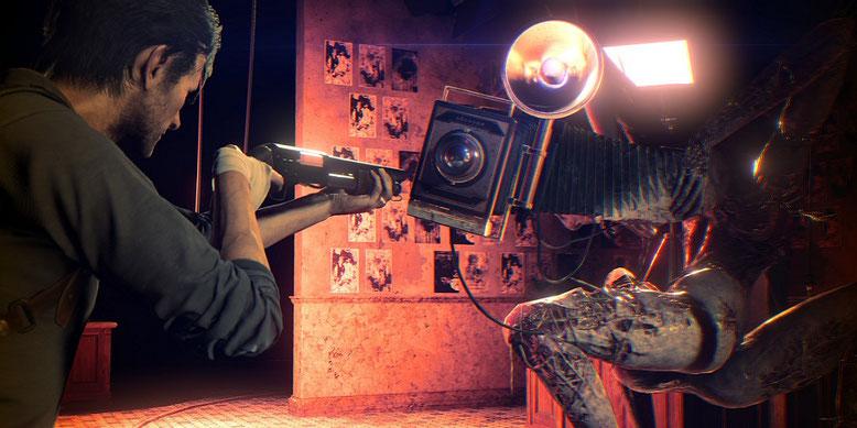 Das Horrorspiel -Sequel The Evil Within 2 entsteht nicht unter der Leitung von Shinji Mikami. Bilderquelle: Bethesda