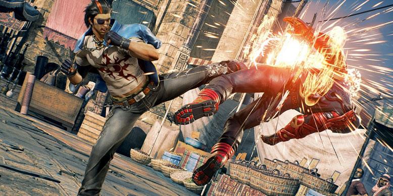 Tekken 7 bietet auf der PlayStation 4 wohl nur eine Auflösung von 900p. Bilderquelle: Bandai Namco