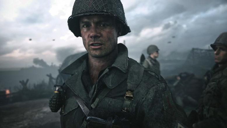 """DLC-Pack 2 """"The War Machine"""" für Call of Duty WW2 offiziell angekündigt. Der Zusatzinhalt erscheint zuerst auf PS4 am 10. April 2018. Bilderquelle: Activision"""