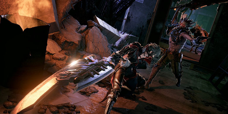 Der erste Gameplay-Trailer zum Action-Rollenspiel Code Vein ist da. Bilderquelle: Bandai Namco Entertainment