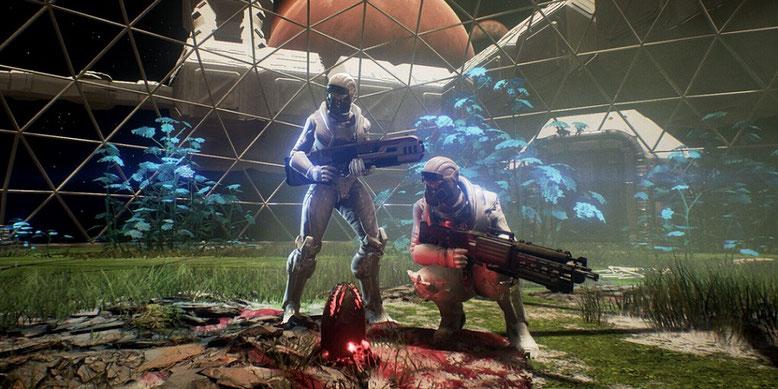 Neuer Unreal-Engine-4-Shooter Genesis Alpha One angekündigt. Bilderquelle: Team17