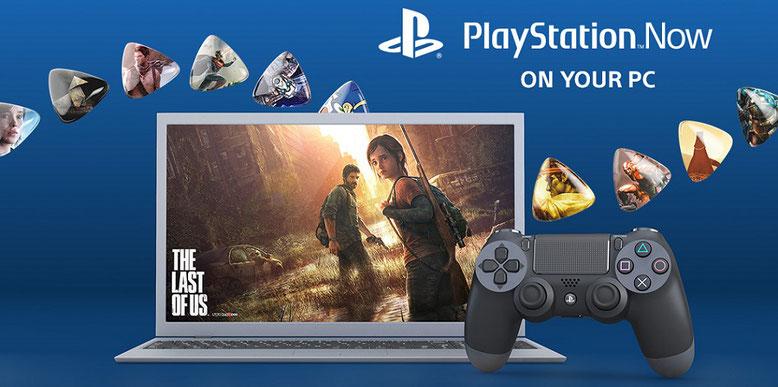 Streaming-Dienst PlayStation Now für PC enthüllt. Bilderquelle: Sony Interactive Entertainment