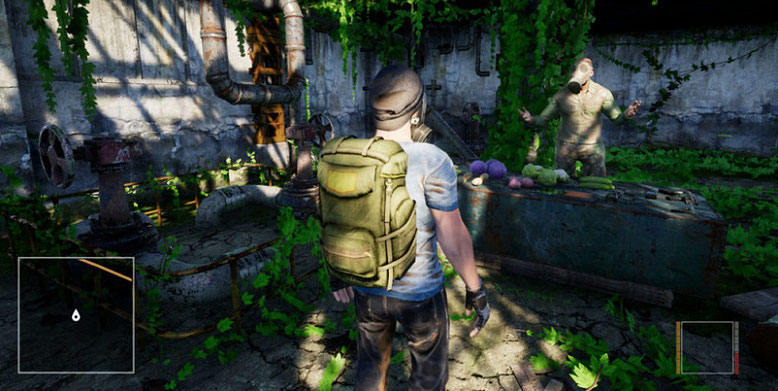 Das auf der Unreal Engine 4 aufbauende Open-World-Spiel The Day After Origins erscheint auf Steam als Early-Access-Version Mitte November dieses Jahres. Bild: Coconut Games