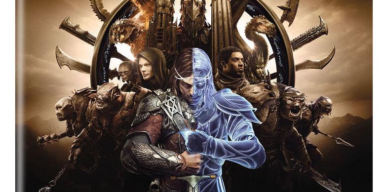 Middle-Earth: Shadows of War auf dem ersten Screenhot des Packshots zur Gold Edition. Bilderquelle: gematsu.com