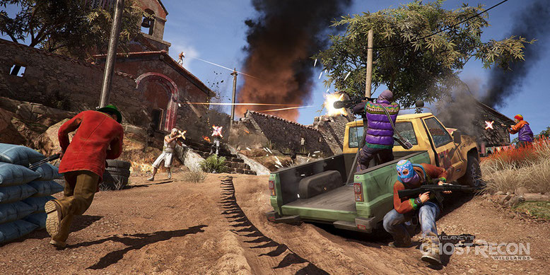 Taktik-Tipps zu Ghost Recon Wildlands und Koop-Strategien im neuen Video. Bilderquelle: Ubisoft