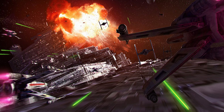 Action pur: Offizieller Starfighter Assault Gameplay Trailer zu Star Wars Battlefront 2 erschienen. Bilderquelle: Electronic Arts