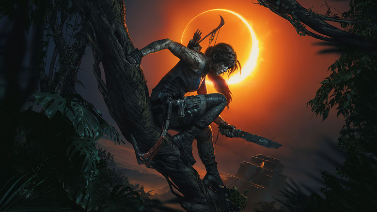 Shadow of the Tomb Raider Artwork Lara Croft