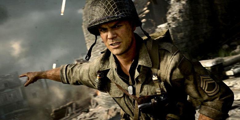 Tipps zum Multiplayer von Call of Duty WW2 und Hilfestellung bei der Wahl der Divisionen in zwei neuen Videos präsentiert. Bilderquelle: Activision