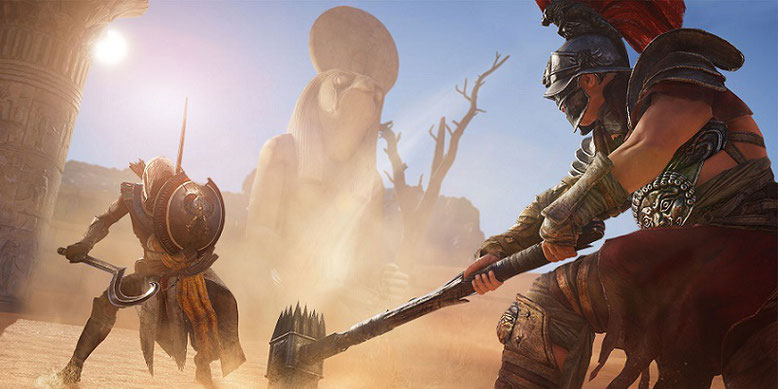 Der offizielle Launch-Trailer zu Assassin's Creed Origins mit Spielszenen aus dem Action-Adventure wurde veröffentlicht.