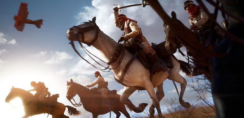 Gamescom-Trailer Zu Battlefield 1 zeigt Action mit Pferden
