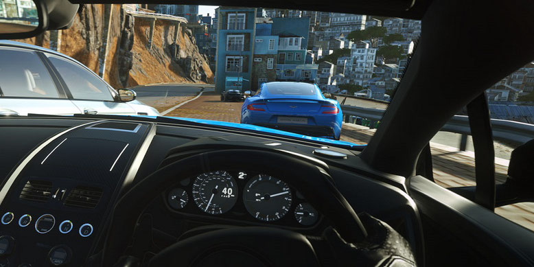 Driveclub VR Gameplay Gamescom 2016