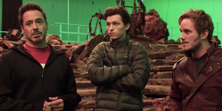 Das erste Video zum Drehstart von Avengers: Infinity War ist mit deutschen Untertiteln verfügbar. Bild: Marvel Studios