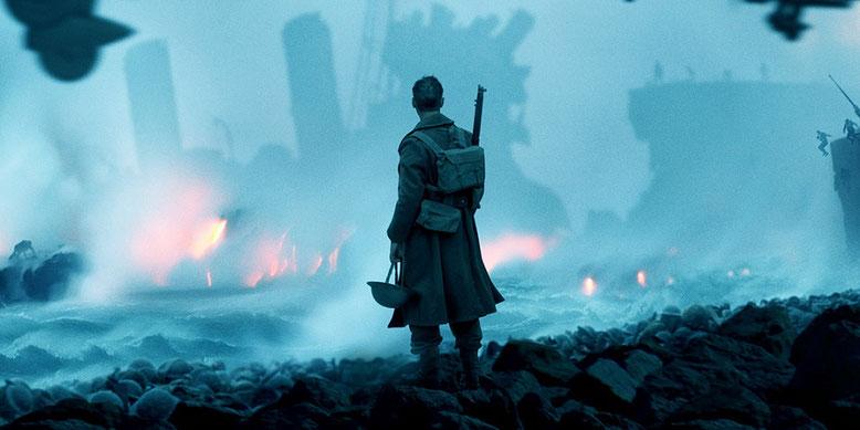 Das Kriegsdrama Dunkirk zeigt sich im neuen deutschen Trailer. Bilderquelle: Warner Bros Pictures