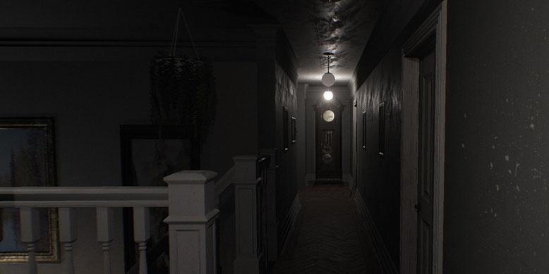 Düster, der neue Gameplay-Trailer zum Horrorspiel Visage auf Basis der Unreal Engine 4. Bilderquelle: SadSquare Studio