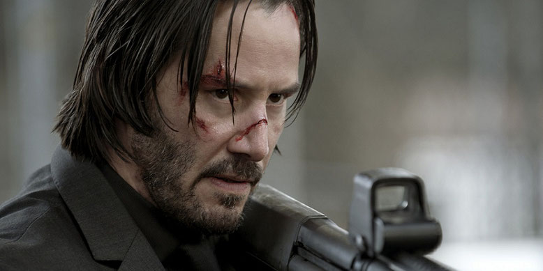 John Wick ballert erneut im dritten Kapitel der Actionfilmreihe um sich und hinterlässt einen blutigen Pfad. Bild: Lionsgate