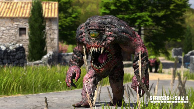 Zu Serious Sam 4: Planet Badass sind die ersten Screenshots und Details veröffentlicht worden. Bilderquelle: Croteam