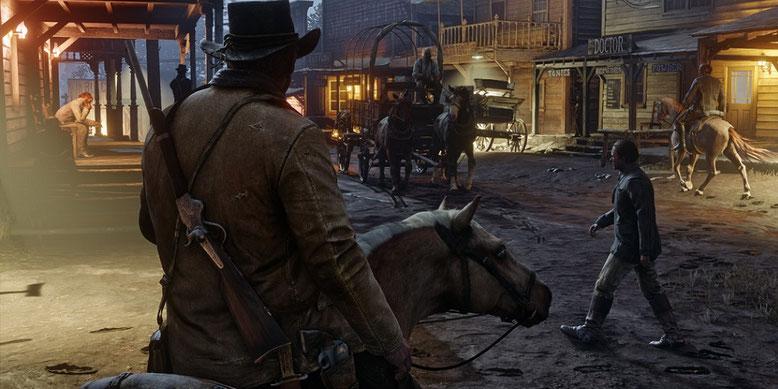 Der Release von Red Dead Redemption 2 erfolgt nicht mehr in diesem Jahr. Bilderquelle Rockstar Games