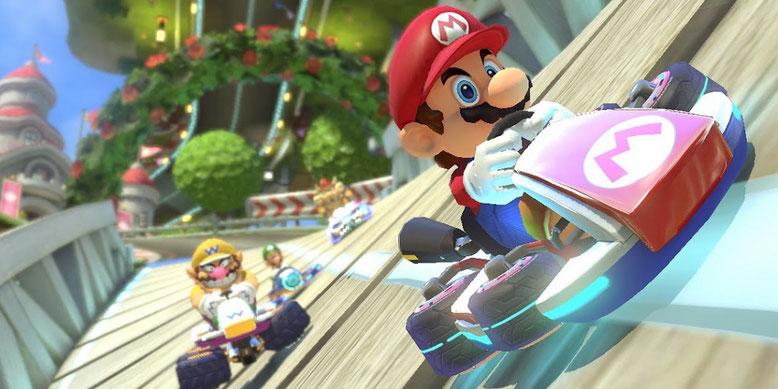 Vermeintliche Details zur Nintendo-Switch-Version von Mario Kart 8 machen die Runde im Netz. Bilderquelle: Nintendo