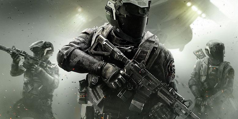 The Crazy Hunters spielen die Beta zu Call of Duty: Infinite Warfare. Bilderquelle: Activision
