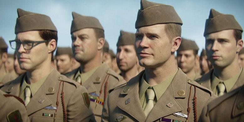Frische Trailer zu Call of Duty WW2 zeigen einige Charaktere aus dem Zweiten-Weltkriegs-Shooter. Bilderquelle: Activision